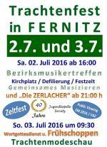 Trachtenfest Fernitz 02.-03.07.2016